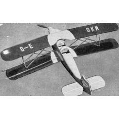 Bauplan Bücker Bü 131 Jungmann