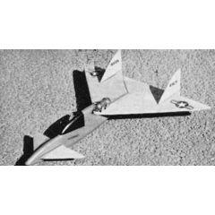 Bauplan Jetex-Ente und Sternschnuppe