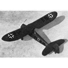 Bauplan Focke-Wulf FW 56 Stößer