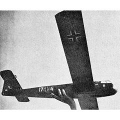 Bauplan Blohm & Voss BV 40