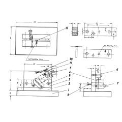 Bauplan Werkzeug- Vorrichtungen für den Modellbau
