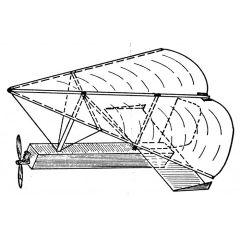 Bauplan Fliegende Rettungsdecke