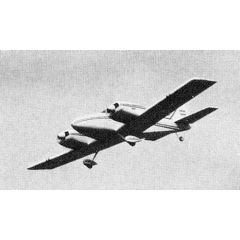 Bauplan FE3 Twin Commander