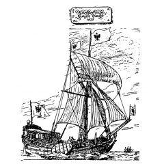 Bauplan Große Yacht 1678