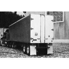 Bauplan Fruehauf 40 Foot Aluminium Reefer Van