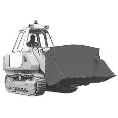 Bauplan Raupenlader JCB-110