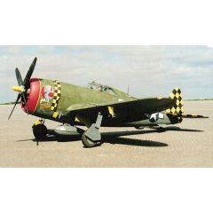 Bauplan Republic P-47D Thunderbolt