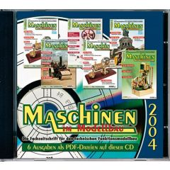 Maschinen im Modellbau Jahrgangs-CD 2004