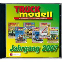 TRUCKmodell Jahrgangs-CD 2007