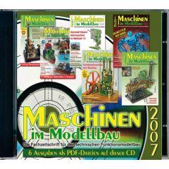 Maschinen im Modellbau Jahrgangs-CD 2007