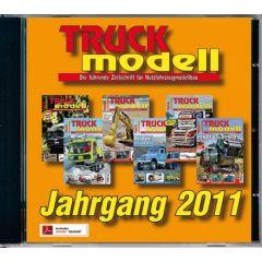 TRUCKmodell Jahrgangs-CD 2011