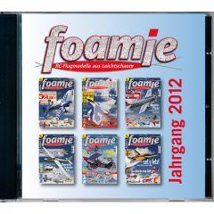 foamie Jahrgangs-CD 2012