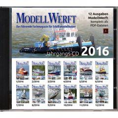 ModellWerft Jahrgangs-CD 2016