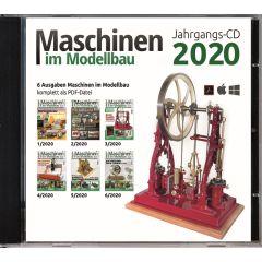 Maschinen im Modellbau Jahrgangs-CD 2020