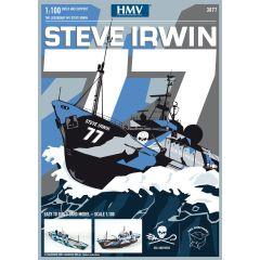 """Kartonbausatz - """"MV Steve Irwin Sea Shepherd 1:100"""""""