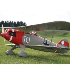 Testbericht: Heinkel He 51 EZ 50 Motor von Kolm Engines