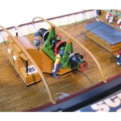 Baupraxis: Decksbeplankung am Beispiel von Bismarck