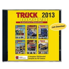 Download: TRUCKmodell Jahrgangs-CD 2013