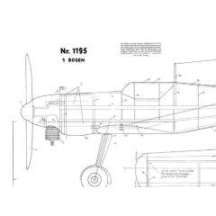 Downloadplan Me 109 (Graupner-Edition)