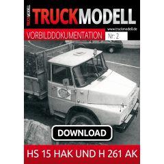 Download - Vorbilddokumentation:  HS 15 HAK und H 261 AK