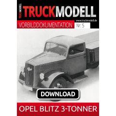 Download - Vorbilddokumentation:  OPEL BLITZ 3-Tonner