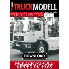 Download-Vorbilddokumentation: Meiller Abrollkipper RK 19.65