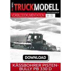 Download-Vorbilddokumentation: Kässbohrer Pistenbully PB 330 D