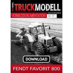 Download-Vorbilddokumentation: Fendt Favorit 800