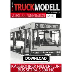 Download-Vorbilddokumentation: Kässbohrer Niederflurbus Setra S 300 NC
