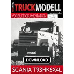 Download - Vorbilddokumentation:  SCANIA T93HK6×4L