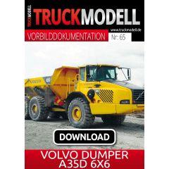 Download-Vorbilddokumentation: Volvo Dumper A35D 6×6