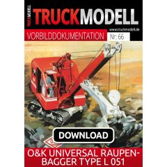 Download-Vorbilddokumentation: O&K-Universal-Raupenbagger Type L 051
