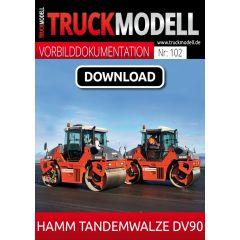 Download-Vorbilddokumentation: Hamm Tandemwalze DV90