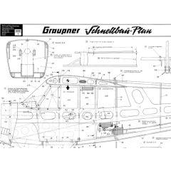 Downloadplan Bauplan Christen A-1 Husky
