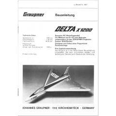 Downloadplan Delta X1200