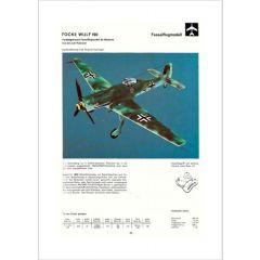 Downloadplan Focke Wulf TA 152 H1
