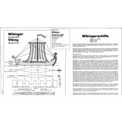Downloadplan Wikinger Drachenschiff